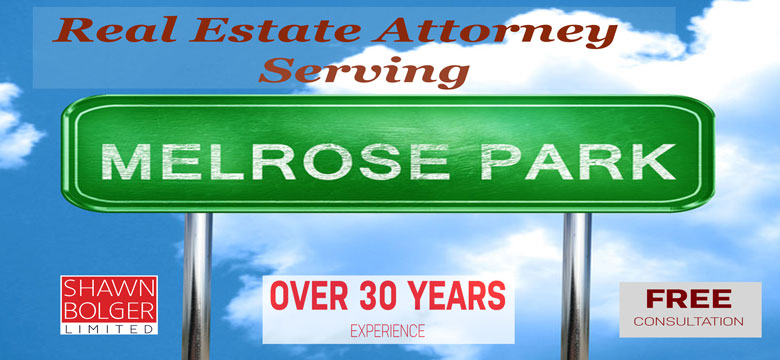 real estate attorney near melrose park